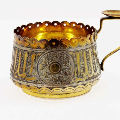 Antique-Russian-Silver-Glass-Holder