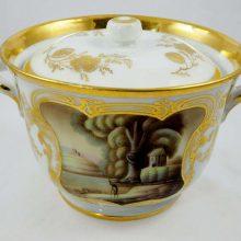 Antique Russian Porcelain manufacturer GULIN
