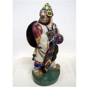 Russian Warrior-1920-Bisque Porcelain-