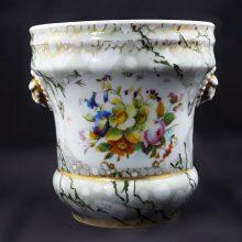 19-Century- Porcelain-European Planter-
