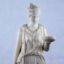 Antique-Classical-Alabaster-figurine