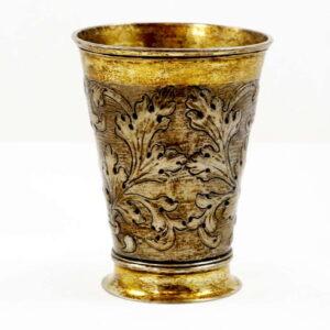 Antique-German-Silver-Wine-beaker