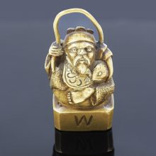 Antique Chinese Bronze-Paperweight-