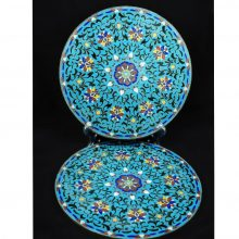 Chinese-Cloisonnee-Enamel-Plaques-