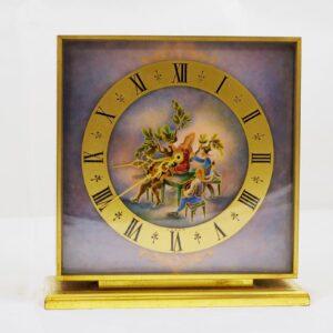 Luxor-Enamel-Table-Clock
