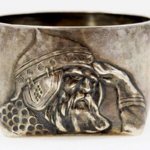 Imperial Russian Silver Bogatyr Cup