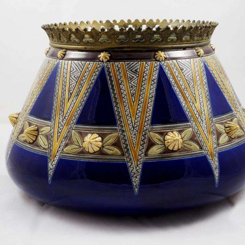 Sarreguemines-antique majolica-