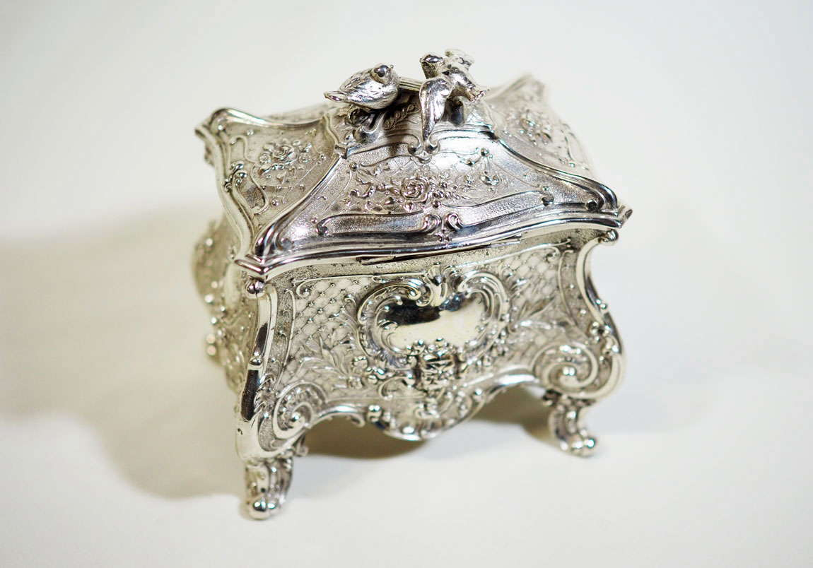 antique WMF jewellery box